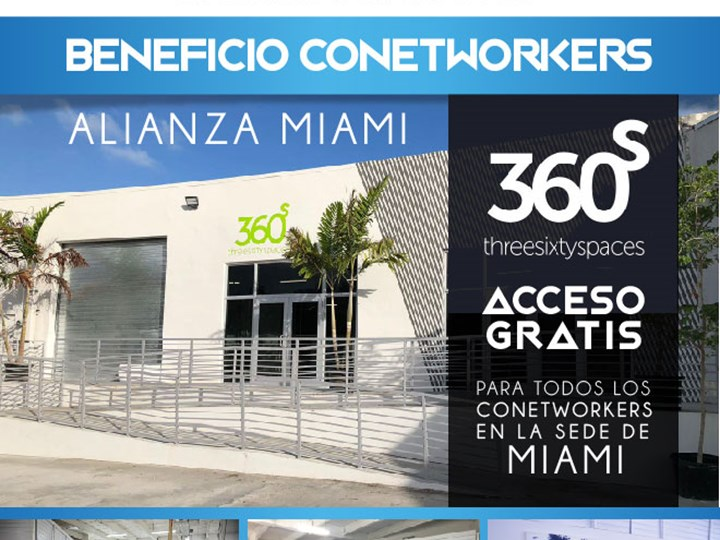 Beneficio Conetworkers | Alianza Threesixtyspaces